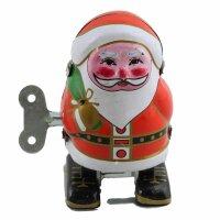 Blechspielzeug - Weihnachtsmann - Blechfigur