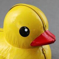 Blechspielzeug - Ente - Quietscheente - Blechente