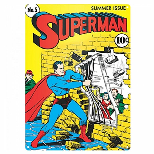 Tin sign - Superman - No.5 Summer Issue