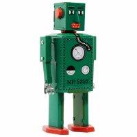 Roboter - Robot Lilliput - grün - Blechroboter