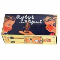 Robot - Tin Toy Robot - Robot Lilliput - green