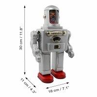 Robot - Tin Toy Robot - Astro Spaceman - silver