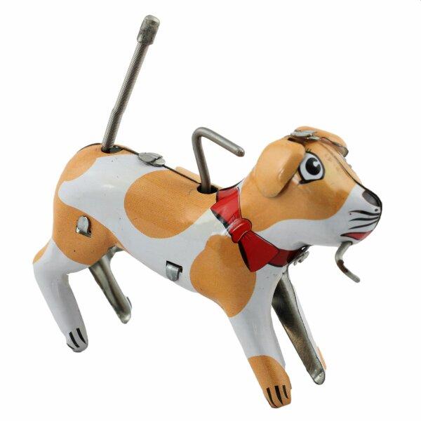 Blechspielzeug - Verrückter Hund