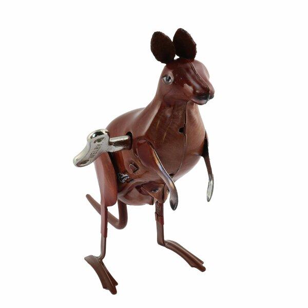 Blechspielzeug - Hüpfendes Känguru