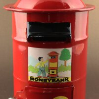 Tin toy - collectable toys - Money Box - Letterbox