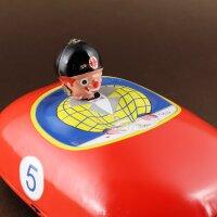 Blechspielzeug - Autoscooter - Aufziehantrieb