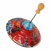 Blechspielzeug - Kreisel - groß
