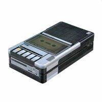 Blechbox - Kassettenrekorder Kassette Datasette - Blechdose