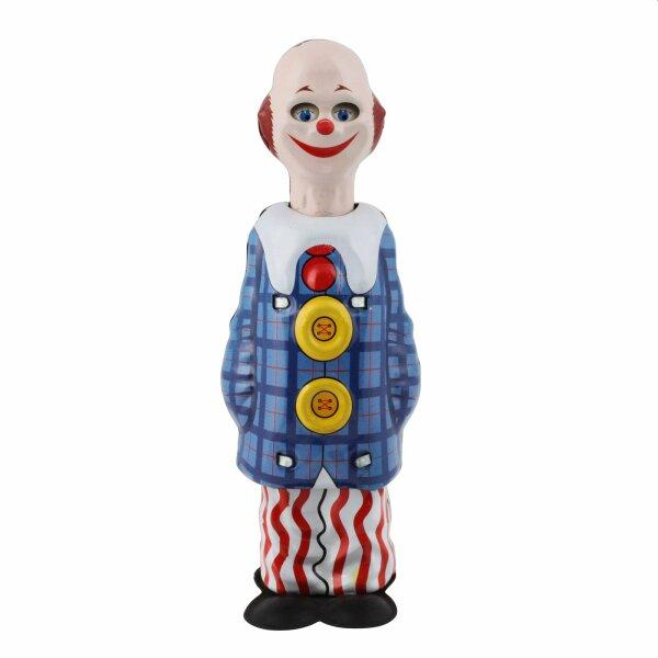 Tin toy - happy clown - circus - tin figure