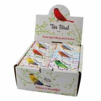 Tin toy - bird - decorative pendant - metal ornament