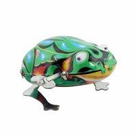 Blechspielzeug - Frosch mit Wackelaugen - klein -...