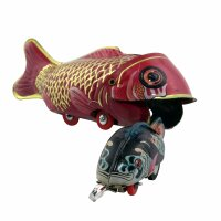 Tin toy - collectable toys - Fish eats Fish