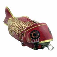 Blechspielzeug - Fisch isst Fisch - Koi - Blechfisch