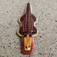 Blechspielzeug - Knack Krokodil - Blechkrokodil