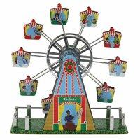 Blechspielzeug - Riesenrad aus Blech mit Musik 02 -...
