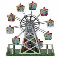 Tin toy - collectable toys - Big Wheel with music