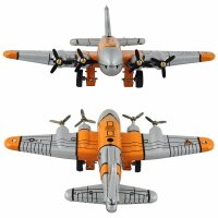 Tin toy - collectable toys - B-17 Flying Fortress - Tin Airplane
