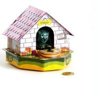 Hunde Spardose - Fido - Blechspielzeug - Blechspardose