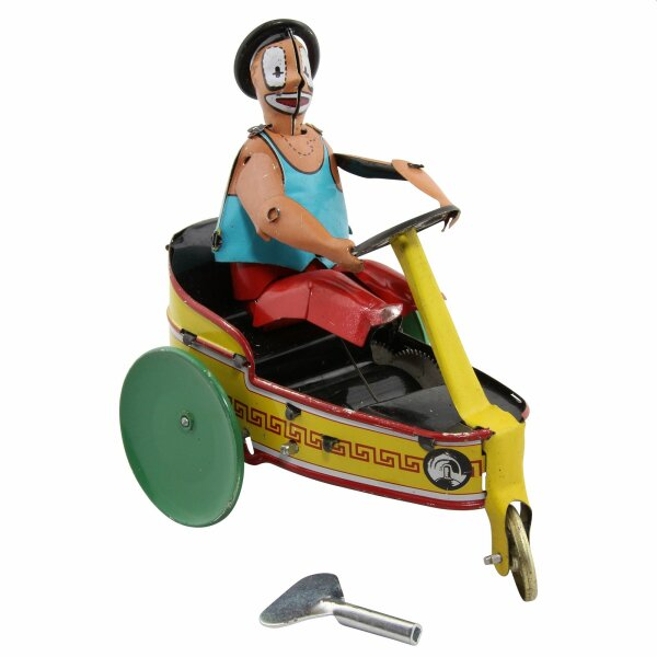 Tin toy - collectable toys - Clown Tricycle