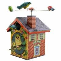 Tin toy - collectable toys - Birdhouse