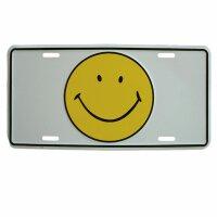 Autoschild - Smiler - Blechschild