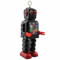 Robot - Tin Toy Robot - High Wheel Robot - balck