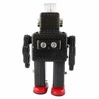 Roboter - Smoking Spaceman Robot - grau - Blechroboter