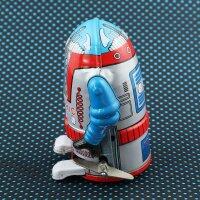 Roboter - Mr. Atomic - silber - Blechroboter