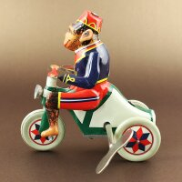 Tin toy - collectable toys - Monkey Tricycle