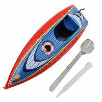Blechspielzeug - Boot Cruise - Kerzenboot - Pop Pop...