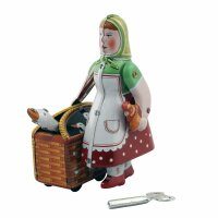 Tin toy - collectable toys - Little Red Riding Hood