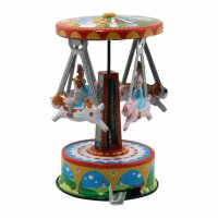 Tin toy - collectable toys - Carousel Pigs and Dogs