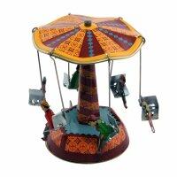 Blechspielzeug - Karussell klein 1 - Blechkarussell