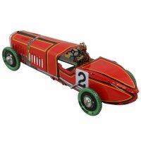 Tin toy - collectable toys - Racing car oldtimer No. 2
