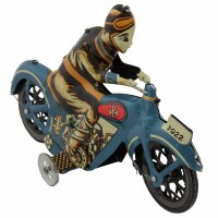 Blechspielzeug - Motorrad Oldtimer aus Blech - Blechmotorrad