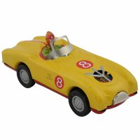 Tin toy - collectable toys - Racer - yellow
