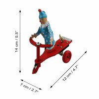 Tin toy - collectable toys - Clown Scooter