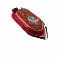 Blechspielzeug - Boot Mini Litho Kerzenboot 05 - Pop Pop Knatterboot aus Blech