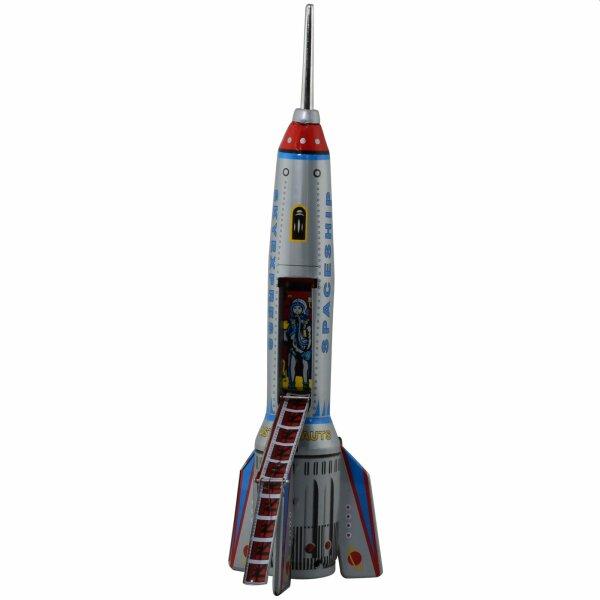 Rakete - Skyexpress - Blechroboter