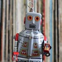 Roboter - Robot - Blechroboter