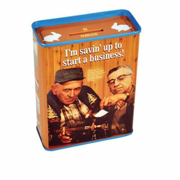 Blechspardose - Im Savin UpTo Start A Business! - Spardose