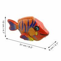 Blechspielzeug - Bunter Fisch - Happy Fish - Blechfisch
