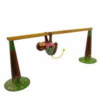 Blechspielzeug - Affe - Kletteraffe - Blechaffe