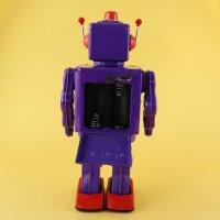 Roboter - Electron Robot - lila - Blechroboter