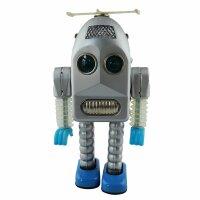 Roboter - Thunder Robot - silber - Blechroboter