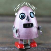 Robot - Tin Toy Robot - Robot egg - red