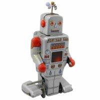 Roboter - Silver Robot - Blechroboter