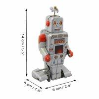 Robot - Tin Toy Robot - Silver Robot