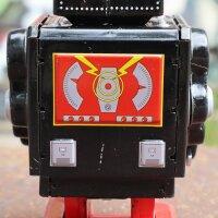 Robot - Tin Toy Robot - Black Robot