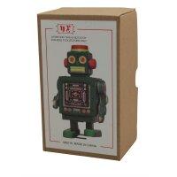 Robot - Tin Toy Robot - Green Robot
